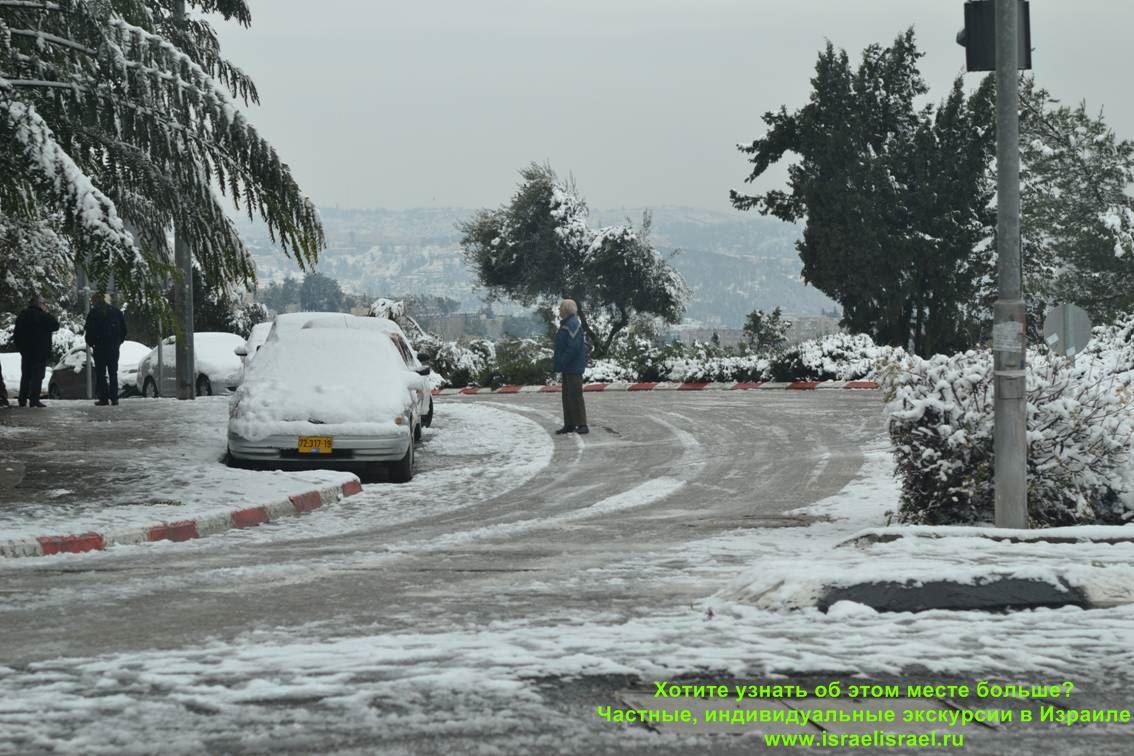 температура в израиле зимой