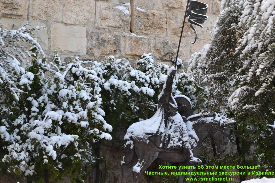 зима в израиле климат