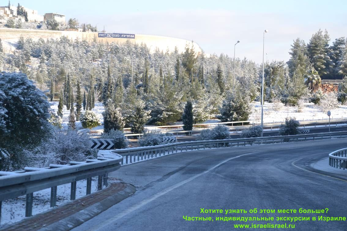 what is the weather in winter in Israel