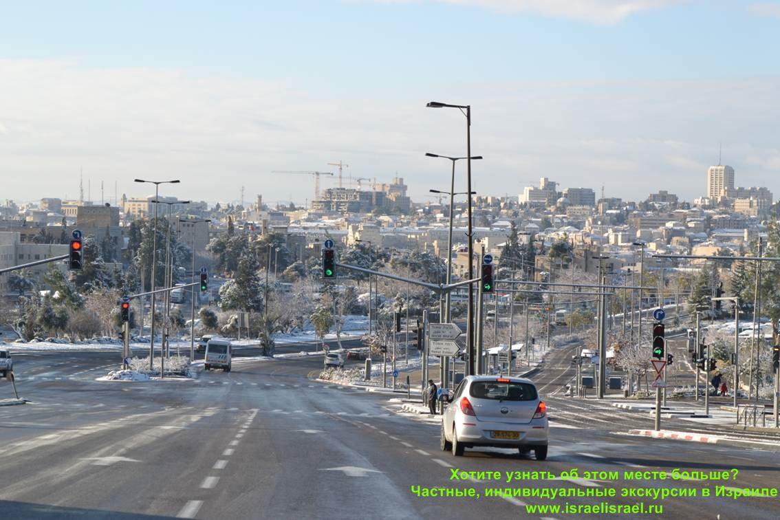 Israel the sea in winter