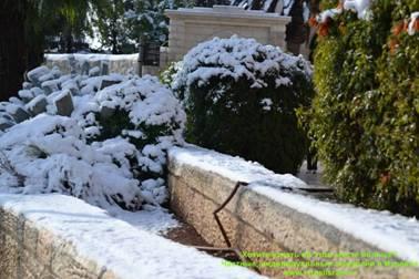 холод зимой в Иерусалиме